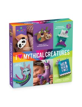 I Love Mythical Creatures Craft Kit by Craft Tastic