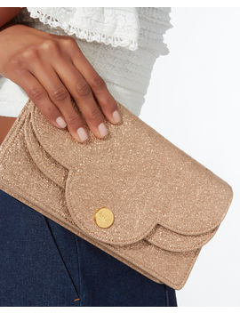 Polina Glitter Chain Wallet by See By Chloé