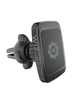 Wiz Gear Magnetic Mount, Universal Twist Lock Air Vent Magnetic Car Mount Holder, For Cell Phones With Fast Swift Snap Technology by Wiz Gear