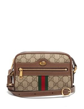 Ophidia Gg Supreme Cross Body Mini Bag by Matches Fashion