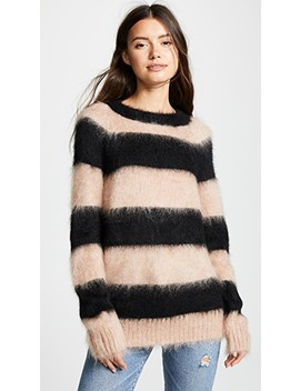 Mohair Stripe Pullover by Alexanderwang.T