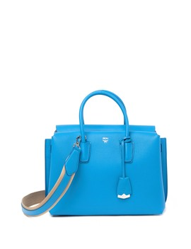 Leather Tote Bag by Mcm