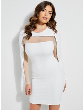 Arisa Lace Up Bodycon Dress by Guess