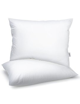 Homfy Premium Cotton Pillows For Sleeping, Bed Pillows Queen Set Of 2 With Medium Softness, Hypoallergenic And Breathable by Homfy