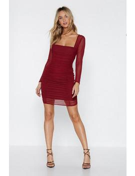 Truly Meshed Bodycon Dress by Nasty Gal
