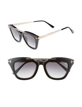 Anna 49mm Gradient Sunglasses by Tom Ford