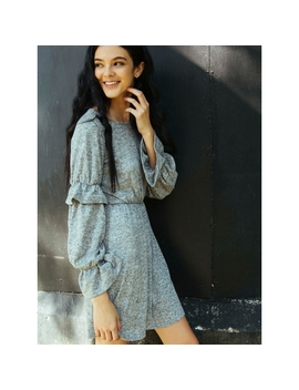 Showstopper Flounce Fit And Flare Dress by Wet Seal
