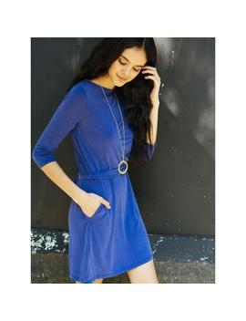 Breathtaking Knit Dress In Violet by Wet Seal