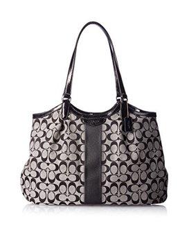 Coach Devin Signature Stripe Women's Tote Handbag Bag 28503 by Coach