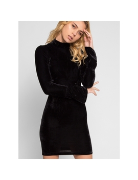 Harlow Fitted Velvet Party Dress by Wet Seal