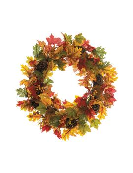 Maple & Berry Wreath by Allstate