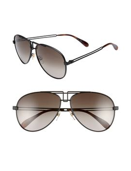 61mm Aviator Sunglasses by Givenchy