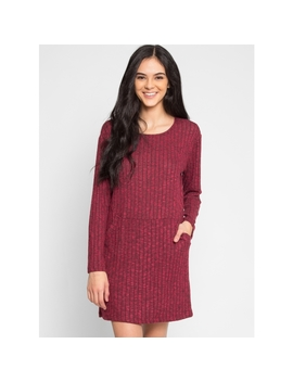 Daisy Textured Knit Dress by Wet Seal