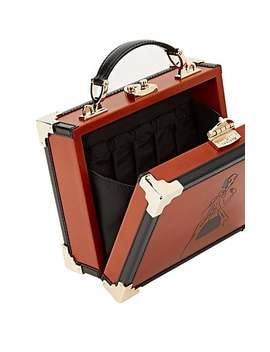 Mini Leather Trunk Bag by Giles X Aspinal