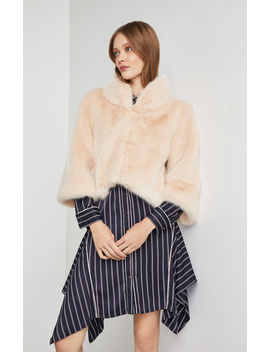 Nadine Faux Fur Jacket by Bcbgmaxazria