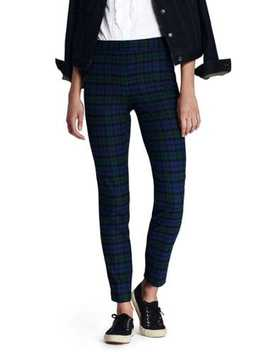Women's Mid Rise Flannel Pencil Pants by Lands' End