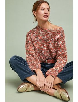 marled-cerise-pullover by solitaire