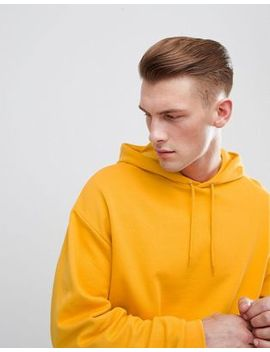 Asos Design Oversized Hoodie In Yellow by Asos Design