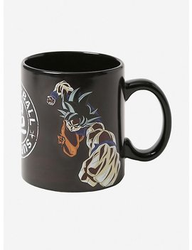 Dragon Ball Super Goku Jiren Heat Reveal Mug by Hot Topic