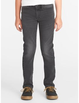 Karate 24/7 Built In Flex Max Gray Jeans For Boys by Old Navy