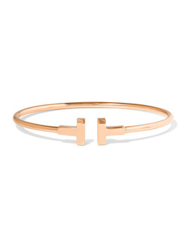 T Wire 18 Karat Rose Gold Cuff by Tiffany & Co.