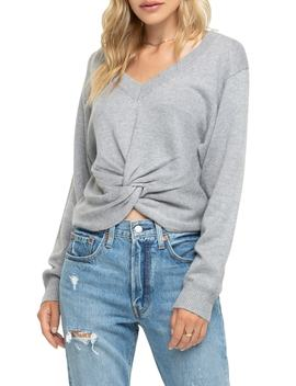 Twist Front Sweater by Astr The Label