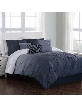 Bergen Ombre Pintuck Comforter Set by Kohl's