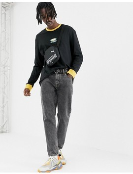 Puma Organic Cotton Long Sleeve Top In Black Exclusive At Asos by Puma