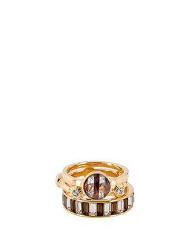 Hb Striped Stack Ring by Henri Bendel