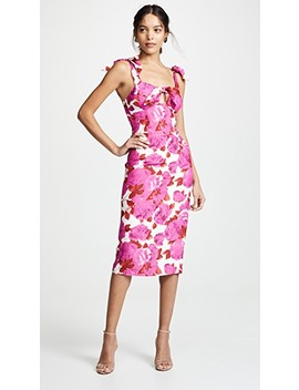 Fuchsia Bloom Dress by Alice Mc Call