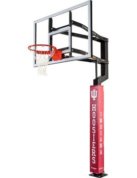 Goalsetter Indiana Hoosiers Basketball Pole Pad by Goalsetter