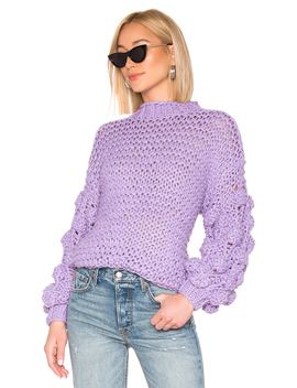 Chunky Sleeve Sweater by Tularosa