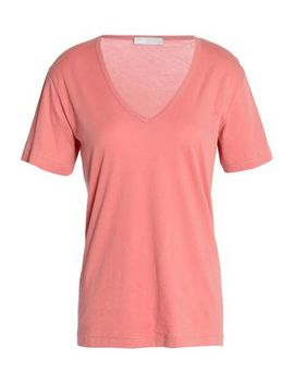 Cotton Jersey T Shirt by Vince.