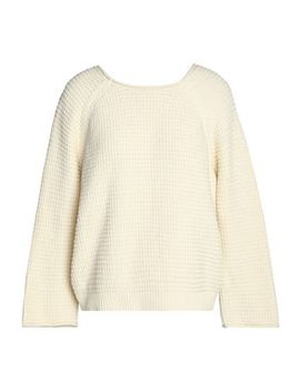 Tie Back Waffle Knit Cotton Sweater by M.I.H Jeans