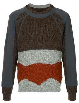 Crochet Panel Sweater by Craig Green