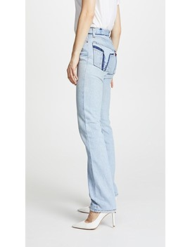 Reconstructed Pocket Jeans by Re/Done