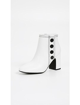 Jace Block Heel Booties by Senso