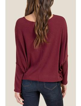Shannon Long Sleeved Top by Francesca's