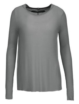 Ribbed Knit Top by Enza Costa