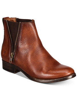 Carly Zip Booties by Frye