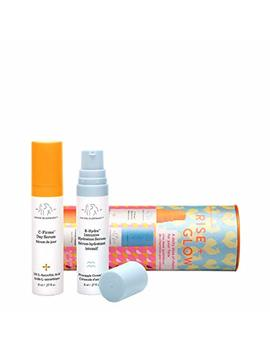 Drunk Elephant Rise + Glow Duo   Morning Skin Care Set. C Firma Day Serum And B Hydra Intensive Hydration Serum With Vitamin B5 (8 Ml Each) by Drunk Elephant