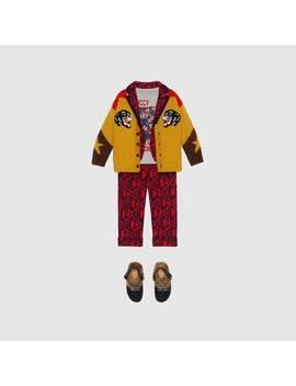 Children's Gucci Game Cotton Jacket by Gucci