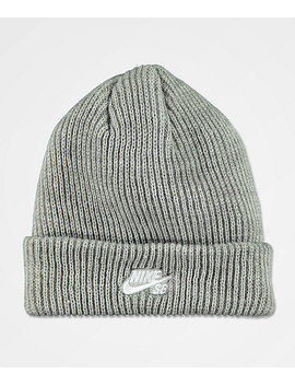 Nike Sb Fisherman Dark Heather Grey Beanie by Nike Sb