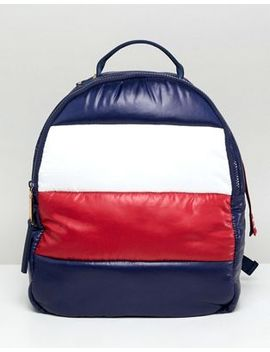 Tommy Hilfiger Flag Padded Backpack by Tommy Hilfiger