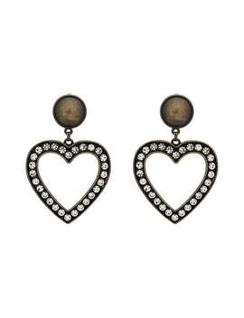 Heart Shaped Earrings by Alessandra Rich