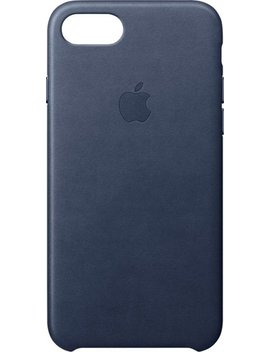 I Phone® 8/7 Leather Case   Midnight Blue by Apple