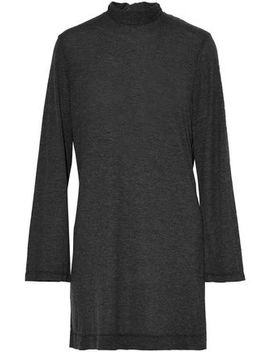 Open Back Ruffle Trimmed Stretch Jersey Mini Dress by Iro