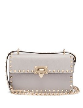 Rockstud Small Leather Shoulder Bag by Matches Fashion