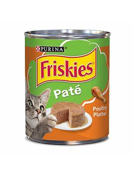 Purina Friskies Classic Pate Poultry Platter Wet Cat Food   (12) 13 Oz. Cans by Purina Friskies