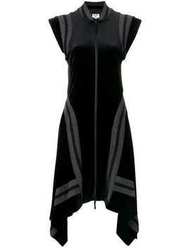 Asymmetric Zipped Dress by Jean Paul Gaultier Vintage